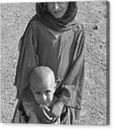 Afghan Girls Canvas Print