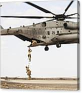 Air Force Pararescuemen Conduct Canvas Print