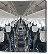 Airplane Seating Canvas Print