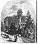 Albert Bierstadt (1830-1902) Canvas Print