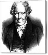 Alexander Monro IIi, Scottish Anatomist Canvas Print