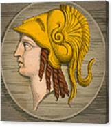 Alexander The Great, Greek King Canvas Print