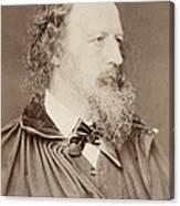 Alfred Tennyson Canvas Print