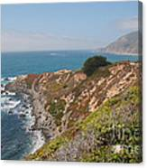 Along Big Sur Canvas Print