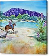 Texas - Along The Rio-grande Canvas Print
