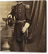 Ambrose Burnside, Union General Canvas Print