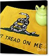 American Tea Party Canvas Print