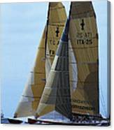 Americas Cup In San Diego Canvas Print