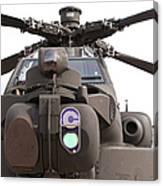 An Ah-64d Apache Helicopter Canvas Print