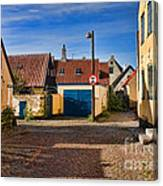 An Alley In Dragoer Canvas Print