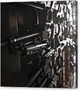An Armory Of Pk Machine Guns Designed Canvas Print