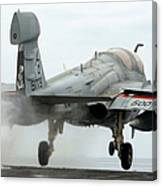 An Ea-6b Prowler Launches Canvas Print