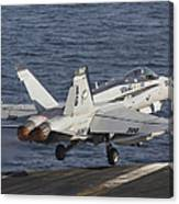 An Fa-18c Hornet Taking Canvas Print