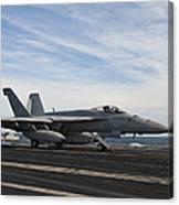 An Fa-18f Super Hornet Takes Canvas Print