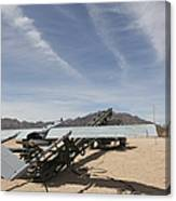 An Rq-7 Shadow Unmanned Aerial Vehicle Canvas Print