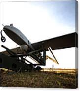 An Rq-7b Shadow Unmanned Aerial Vehicle Canvas Print