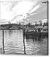 Anchor Inn Cove Canvas Print