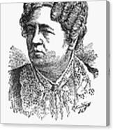 Ann Sophia Stephens Canvas Print