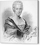 Anna Maria Sibylla Merian Canvas Print