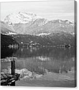 Annecy The Lake Canvas Print