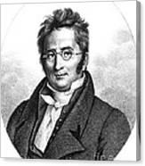 A.p. De Candolle, Swiss Botanist Canvas Print