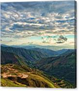 Aragua Valley Canvas Print
