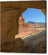 Arch Valley Of Fire Canvas Print