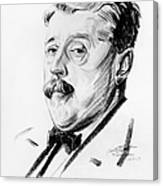 Arnold Bennett (1867-1931) Canvas Print