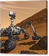 Artist Concept Of Nasas Mars Science Canvas Print