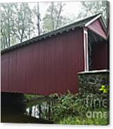 Ashland Covered Bridge Canvas Print