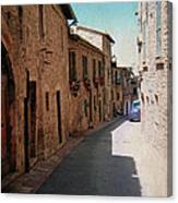 Assisi Italy Canvas Print