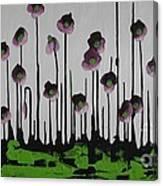 Aubergine Autumn Canvas Print