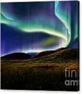 Aurora On Field Canvas Print