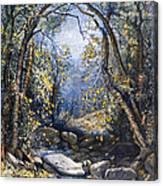 Autumn, 1873 Canvas Print