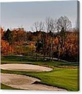 Autumn Golfing  Canvas Print