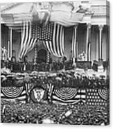 B. Harrison Inauguration Canvas Print