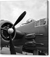 B25 Bomber Canvas Print