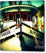 Back In The Harbor Canvas Print