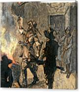 Bacons Rebellion, 1676 Canvas Print