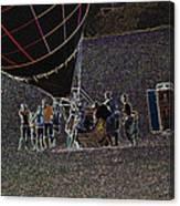 Balloon Dreamscape  7 Canvas Print