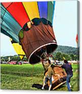 Balloonist - Ready For Takeoff Canvas Print