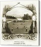 Baseball, 1861 Canvas Print