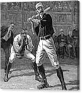 Baseball, 1888 Canvas Print