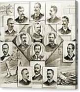 Baseball, 1894 Canvas Print