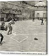 Baseball: Brooklyn, 1890 Canvas Print