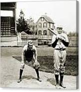 Baseball: Princeton, 1901 Canvas Print