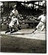 Baseball: Washington, 1925 Canvas Print