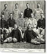 Baseball: White Stockings Canvas Print