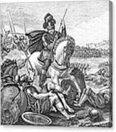Battle Of Agincourt, 1415 Canvas Print
