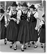 Bavarian Girls Canvas Print